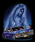 """""""Virgin City"""" Mary Lady of Guadalupe Praying Hands Lowrider Car Urban Art Poster"""
