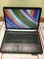 "HP PAVILION DV7-6C21NR 17.3"" laptop AMD A6-3420M  6GB 640GB DVD WIN8.1"