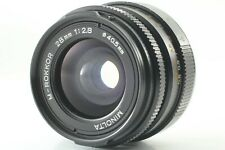 [Exc+2] Minolta M-Rokkor 28mm f2.8 Leica M mount MF Lens CL CLE from Japan #426