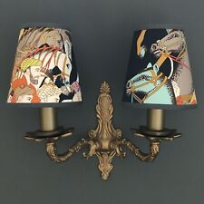 Canovas Dara  - Small Handmade Candle Clip Lampshade for Wall Lights/Chandeliers
