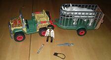 Playmobil Jeep Anhänger Rangerfahrzeug Achse  Axle Essieu aus 4832 #11-255 Dschungel