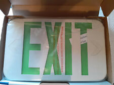 Low Profile Lithonia Lighting Led Emergency Exit Sign With Wall Mounting Bracket