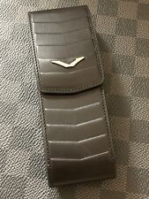 Genuine Vertu Ascent X Black Leather CASE A must own Super RARE