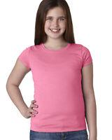 Next Level Apparel Youth Girls Princess T-Shirt N3710 XS-XL Short Sleeves Tee