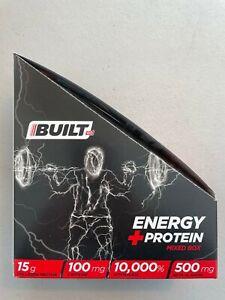 BuiltGO Energy Shots - 1 Box/9 Packets - Mixed Flavors - New - EXP 7/31/2021