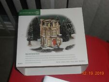 "Department 56 New England Village- Heritage Village "" Hale And Hardy House"""