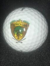 Pilgrim'S Oak Golf Club Golf Ball w/Logo for Cabinet display Pinnacle 3