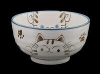 Cuenco Gato Japonés Maneki Neko 12.8cm -cerámica Del Japon-Made en ' -213bis
