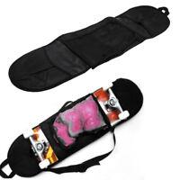 Portable Skateboarding Skateboard Cover Longboard Carrying Backpack Carry Bag DP