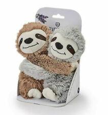 Brown & Grey Sloths Hotties - Hugging Sloths Microwaveable Warmies Hottie