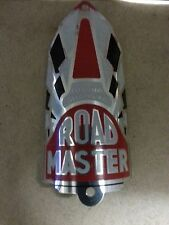 "Roadmaster ""cleveland welding"" Whizzer Bicycle Head Badge  #002T"