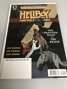 HELLBOY & BPRD 1953 PHANTOM HAND and The Kelpie HALLOWEEN COMICFEST 2018 (9.6+)