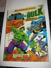 MARVEL SPECIAL TREASURY EDITION 1978 BRONZE Giant Size Batman Hulk Scarce Book