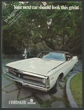 CHRYSLER 1969 Vintage Car Print Ad
