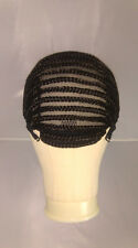 UK: Adjustable Straps, Combs, Stretchy Braided Wig Cap Cornrow HorseShoe Crochet
