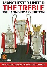 Manchester United - The Treble 10th Anniversary Edition DVD Remastered! Man Utd