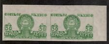 Mexico,AirMail,Scott#C175a,50c,pair imperf,MH,Scott=$450