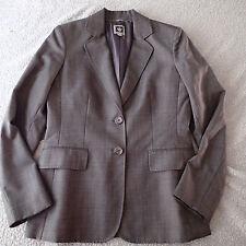 anne klein BLAZER SZ 8 SUIT Jacket WOOL BLEND B7
