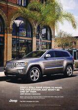 2012 Jeep Grand Cherokee  - Original Advertisement Print Art Car Ad J894