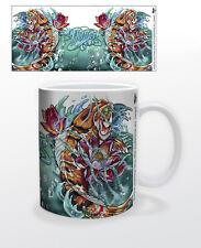 JAMES DANGER KOI FISH 11 OZ COFFEE MUG TEA CUP ART DECOR COLOR SEA LIFE OCEAN!!!