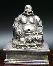ANCIENNE STATUETTE BOUDDHA RIEUR PORTE BONHEUR BUDDHA STATUE