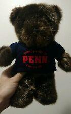 PENN STATE UNIVERSITY TEDDY BEAR PLUSH DOLL Graduation PSU College School Gift