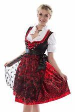 020...Trachtenkleid 3Tlg. Dirndl Oktoberfest Gr: 34-54 günstige Dirndl wiesn