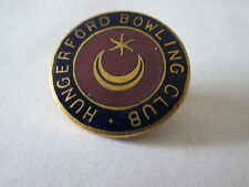 Vintage Hungerford Bowling Club Badge