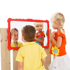 'Haha' mirror - children's 'funny' mirror for outdoor playframes, playhouses,etc