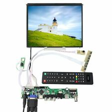 HDMI VGA AV USB RF LCD Controller Board 9.7inch 1024x768 IPS LCD Screen