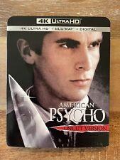 American Psycho (4K Uhd/Blu-ray) With Rare Slipcover