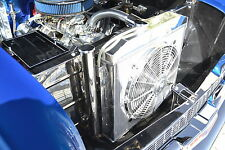 NEW 3 ROW ALUMINUM RADIATOR 55 56 CHEVY BEL AIR FITS 6CYL DR