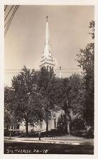 Église Ste-Thérèse-D'Avila STE-THÉRÈSE Quebec 1940-50s Michel Photo RPPC 10
