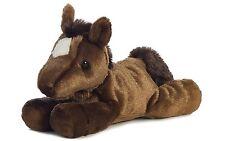 Aurora 16486 Plush Stuffed Animal 8 inch Chestnut Brown Mini Flopsie Horse New
