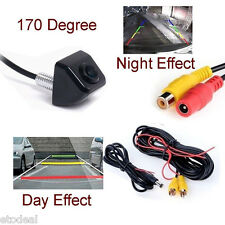 Wired Car Rear View 170° angle Night Camera Reverse Backup Parking CMOS camera