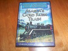 ALASKA'S GOLD RUSH TRAIN GREAT AMERICAN RAIL JOURNEYS Alaska Yukon Rails DVD NEW