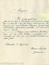 Arbeitszeugnis Gärtnergehilfe Gartenbau Iserlohn Letmathe 1936