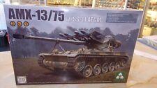 Takom 2038 1/35 French Light Tank AMX-13/75 w/SS-11 ATGM, BRAND NEW!