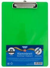 TOPPOINT® 43580 Klemmbrett Schreibplatte A4 translucent grün