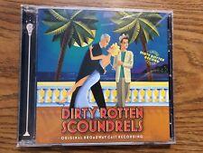 Dirty Rotten Scoundrels Original Broadway Cast Recordings Ghostlight Cd Tested