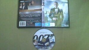 Blu-Ray SKYFALL James Bond , Daniel Craig , Javier Bardem free postage