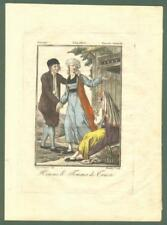 "FRIULI - TRIESTE. ""Homme et Femme de Trieste""..."
