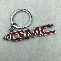 Gift for GMC Car Logo Emblem Keychain Keyring Fob Two-Sided Zinc Alloy Metal