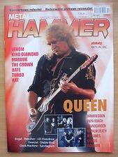 METAL HAMMER 2/2015 QUEEN/Adam Lambert,Soundgarden,AC/DC,Ceti,King Diamond,Rush
