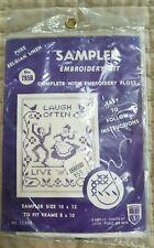 Belgian Linen Sampler Embroidery Kit #785B