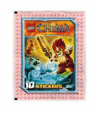 Lego Legends of Chima Topps Lot 40 Sealed Packs Stickers