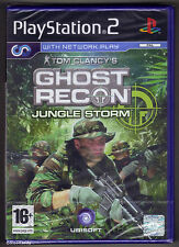 PS2 Ghost Recon Jungle Storm (2004), UK Pal, Brand New & Sony Factory Sealed