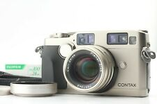 [EXC+5] CONTAX G2 + Carl Zeiss Planar 45mm F/2  Camera Strap Hood From Japan 708