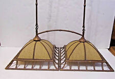 Faux Bamboo Chandelier  Ceiling Light Fixture