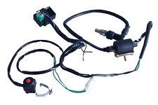 Pit Dirt Bike CDI Spark Plug Ignition Coil Kill Switch 110cc - 140cc